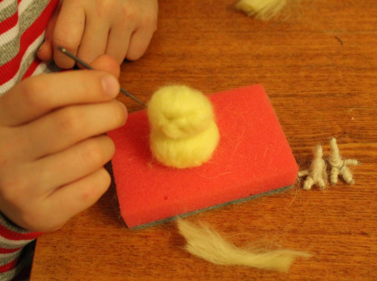 Цыплёнок своими руками.