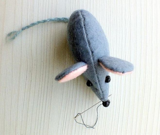 Как сшить мышку.