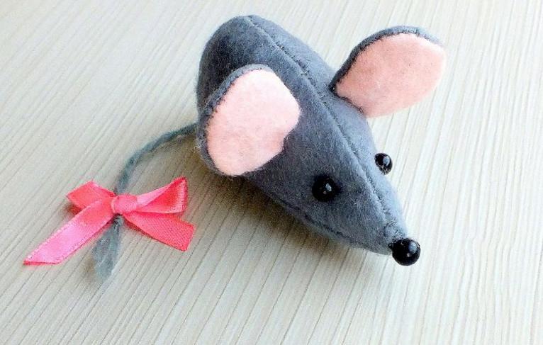 Игрушка мышь своими руками