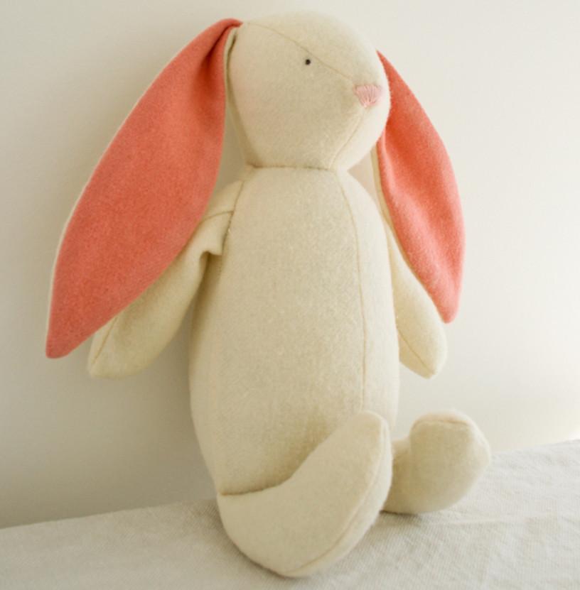 Выкройка зайца из ткани своими руками фото