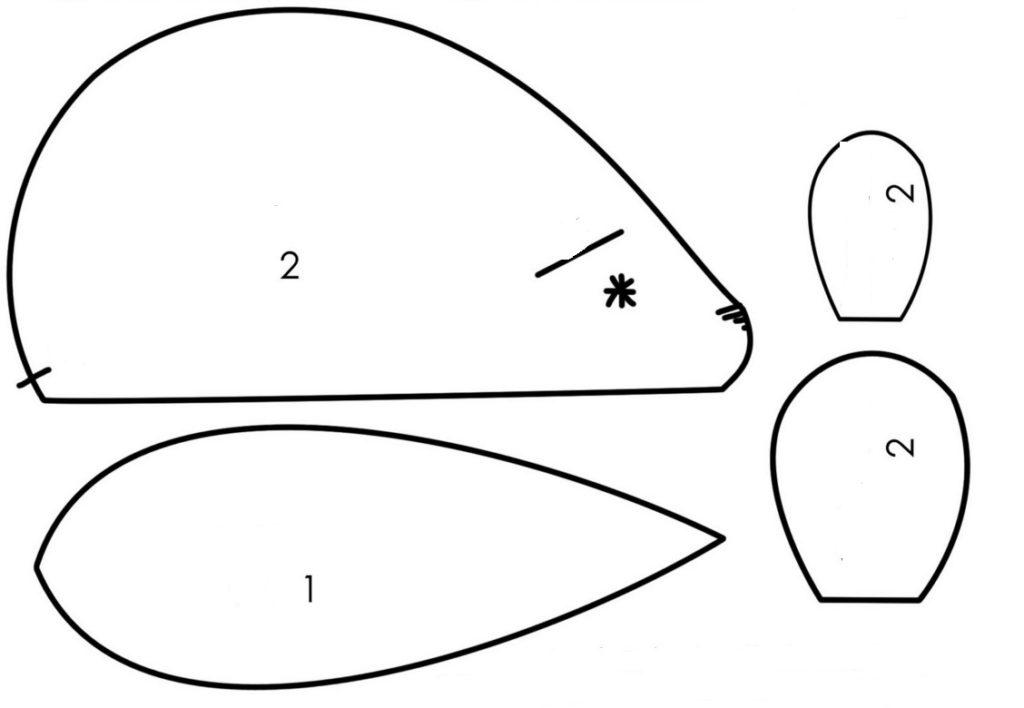 Мышка своими руками схема