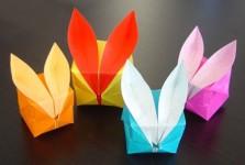 Зайчики оригами (58)