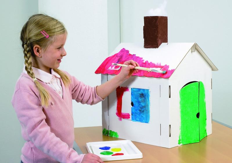 Куклы из картона для детей своими руками