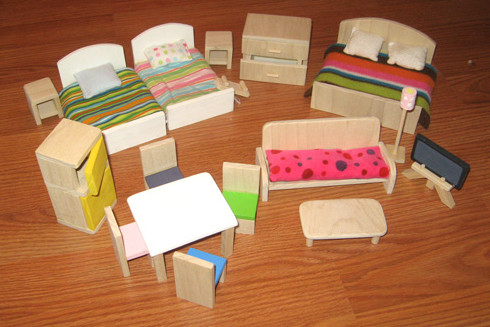 Сделать мебель из бумаги своими руками