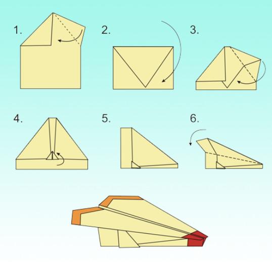 Как сделать самолётик из бумаги фото 135