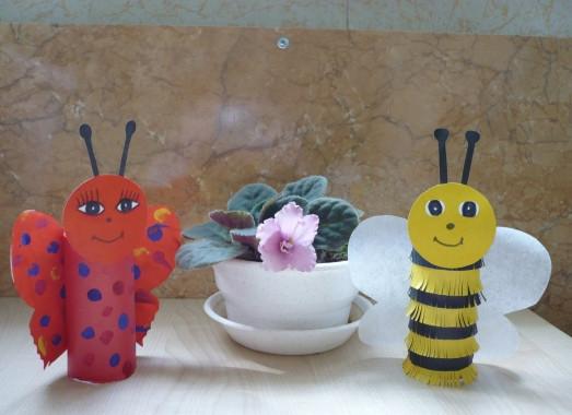 Бабочки своими руками из фетра
