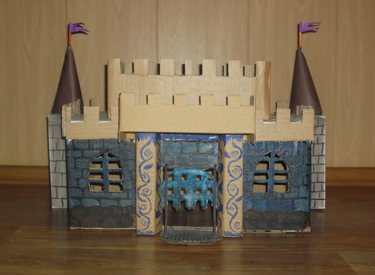 Замок своими руками схемы для детей фото 871