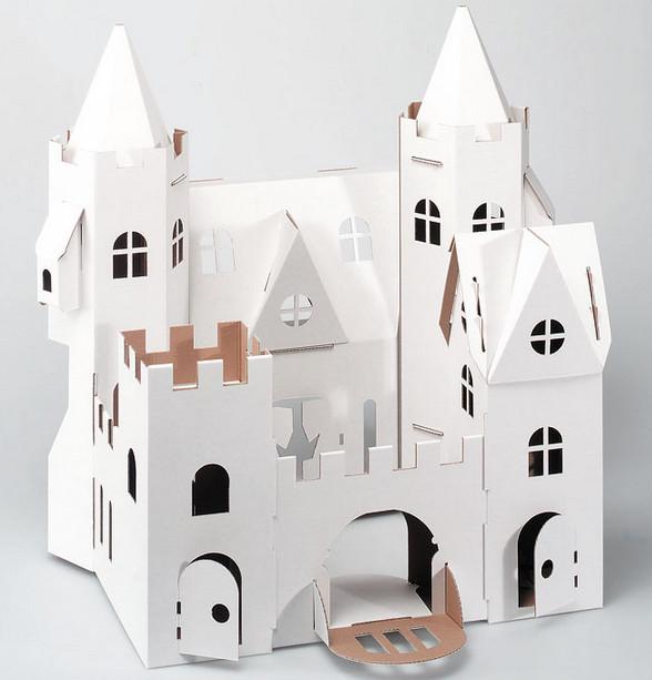 Открытки-киригами: 11 шаблонов замков — своими руками — handmade.
