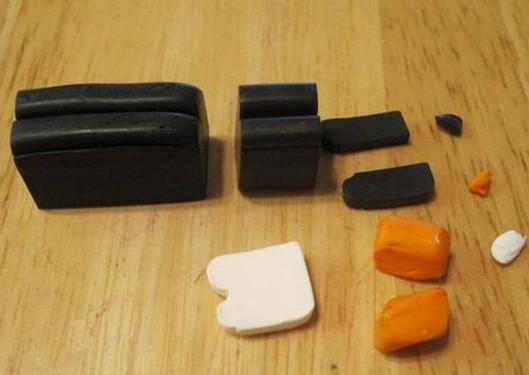 Игрушки из пластилина