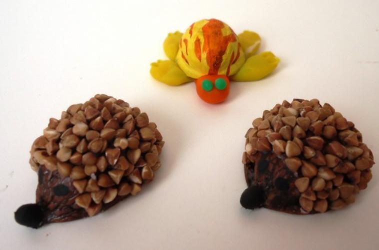 Поделки из ореховых скорлупок