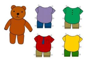 Как сделать бумажную куклу