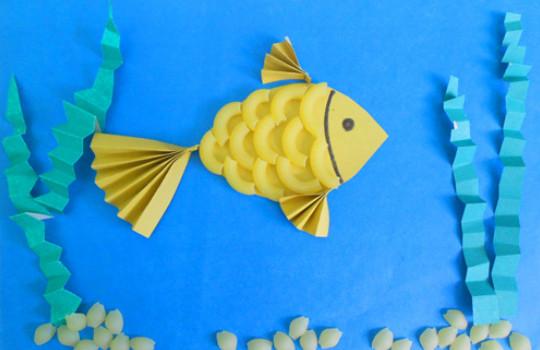 Рыбки из бумаги своими руками