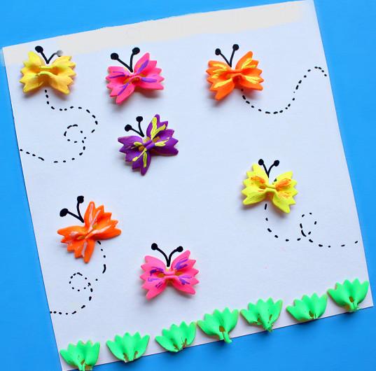 Бабочка галстуНовогодние Виды Поделки для детей 6-5