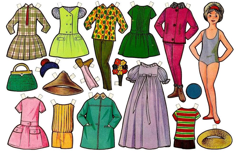 Как сделать своими руками куклу и одежду из бумаги