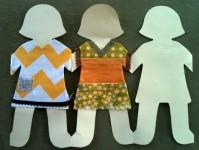 Куклы из бумаги своими руками (26)