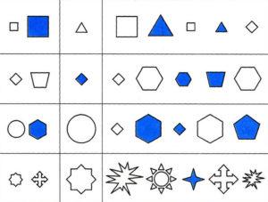 Логические задачи для дошкольников в картинках