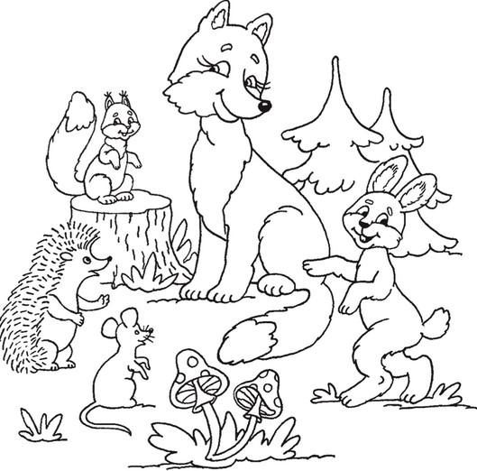 Раскраски для детей 5 лет бесплатно скачать