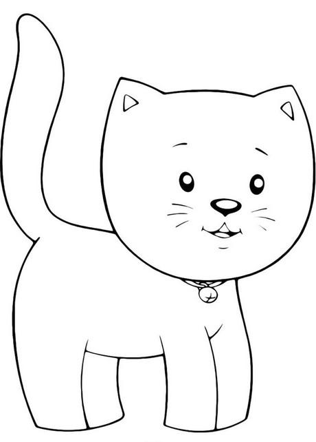 Раскраски домашние животные. Бесплатные картинки для детей ...