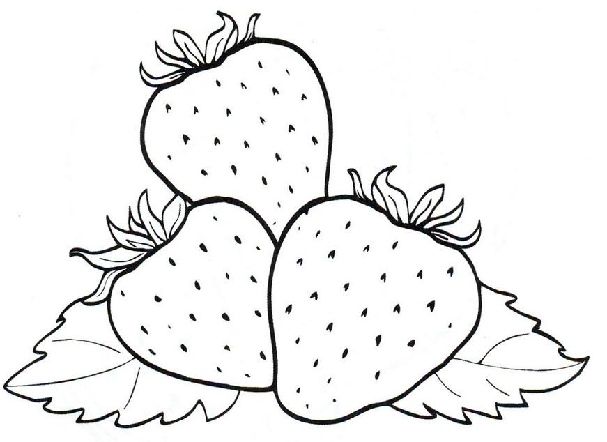 фрукты раскраска для детей распечатать картинки для малышей