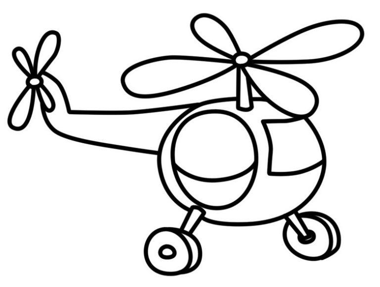 Раскраска игрушка для маленьких