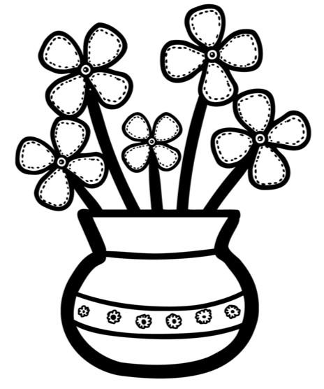 Раскраски цветы (51)