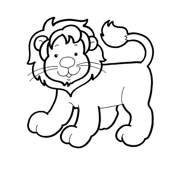 раскраски животных для детей распечатать бесплатно
