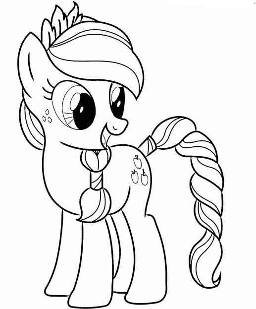 Разукрашки литл пони