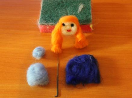 Валяние игрушки своими руками