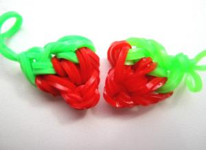 Маленькие игрушки из резинок