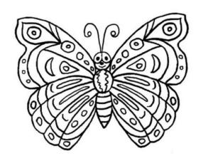 Бабочки из бумаги своими руками (12)