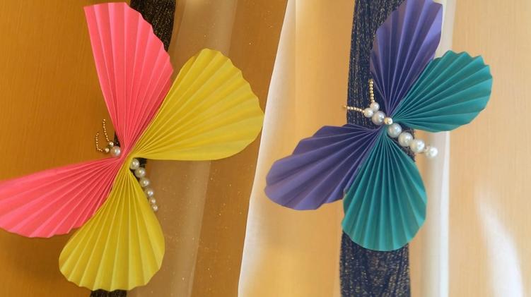Как сделать  красивые бабочки