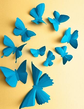 Бабочки из бумаги своими руками (24)