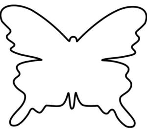 Бабочки из бумаги своими руками (25)