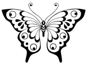Бабочки из бумаги своими руками (32)