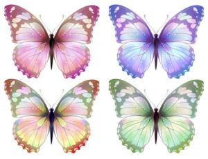 Бабочки из бумаги своими руками (33)