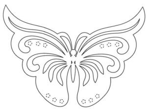 Бабочки из бумаги своими руками (36)