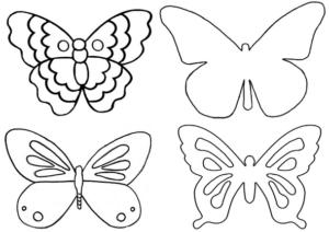 Бабочки из бумаги своими руками (39)