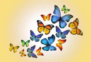 Бабочки из бумаги своими руками (4)