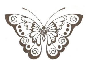 Бабочки из бумаги своими руками (42)