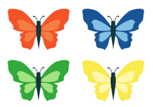 Бабочки из бумаги своими руками (6)
