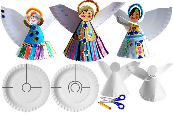Делать ангела с детьми