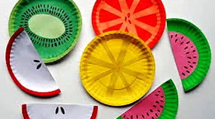 Поделки из тарелок бумажных для детей