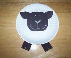Из бумажных тарелок