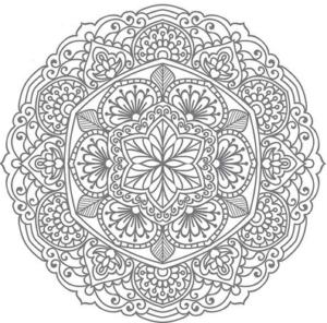 Мандалы раскраски антистресс (41)