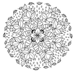 Мандалы раскраски антистресс (43)