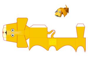 Объемные игрушки из бумаги (11)