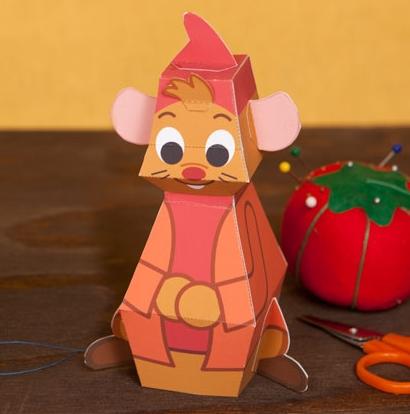 Объемные игрушки из бумаги (14)
