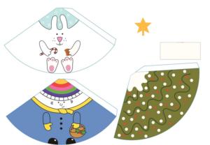 Объемные игрушки из бумаги (21)