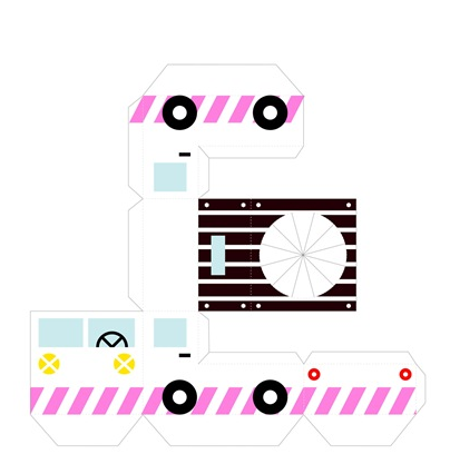 Объемные игрушки из бумаги (3)
