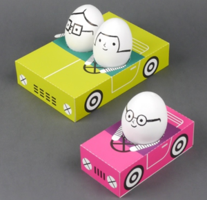 Объемные игрушки из бумаги (4)